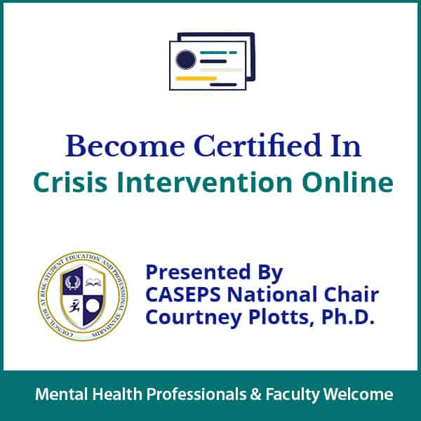 Crisis Intervention Online Certification