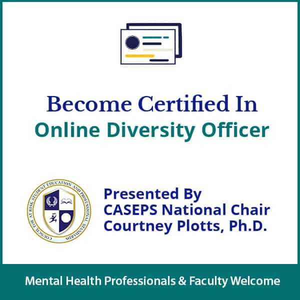 Online Diversity Officer Certification